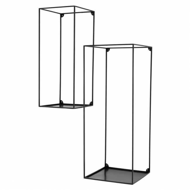 Wall Rack Deco set of 2