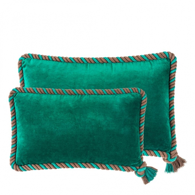 Pillow Christallo set of 2 green