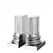 Bookend Pillar set of 2 01