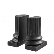 Bookend Pillar set of 2 02