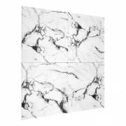 Wall decoration faux marble set of 4 01