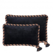 Pillow Christallo set of 2 black