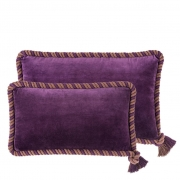 Pillow Christallo set of 2 purple