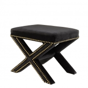Stool Perugia black