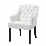Dining Chair Lancaster with arm white