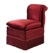 Dining Chair Boucheron red