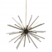 Chandelier Equalizer L black/brass