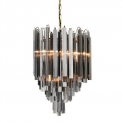 Chandelier Salerno brass