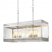 Chandelier Roma L nickel
