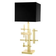 Table Lamp Tortuga brass