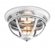 Ceiling Lamp Residential nickel 01