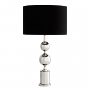 Table Lamp Zephyr nickel