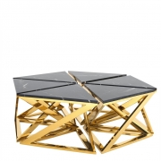 Coffee Table Galaxy set of 6 gold