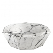 Coffee Table Diamond white