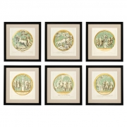 Prints Pietro Santi Bartoli set of 6