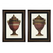 Prints Empire Urns set of 2